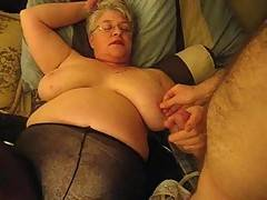 Get over here bad boy your naughty MILF next door is going to suck your cock good I know you have been spying on me and now your going to get what you deserve