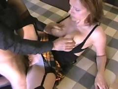 After I gave head my Master he pulled my skirt and fucked me roughly He pressed and squeezed my boobs while drilling my tight pussy till I got my huge orgasm