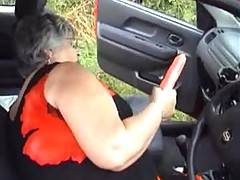 I was out driving one sunny afternoon when I spotted on of my dildoes on the dashboard  Well what is a girl to do  I just had to pull in and pleasure myself I felt so horny I couldnt have concentrated on my driving  Cum and join me as I play with my soft