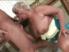 Busty Fleshy Granny Is Very Cock Hungry 3