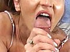 Sweet mature bitch Darian Ross toys her asshole and gets pussy slammed
