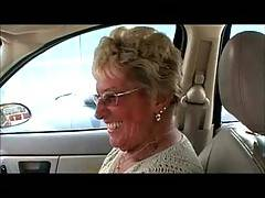 76 Year old Granny Shirley interview after buying a brand new big black dildoShe talks about how she broke her last dildo what she enjoys doing with adildo after she fucks it and how the Cougar Champion gave her a sore pussy