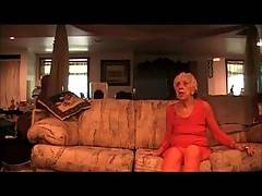 In this 3 part video 89 year old Granny Marg demands to be fucked on the couch  Shes very flexible and even gets fucked while hanging upside down off the couchYou also get to see Granny Marg squirting pussy and taking a hot load of cum allover her face  E